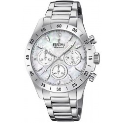 Buy Festina Ladies Watch Boyfriend F20397/1 Quartz Chronograph