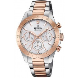 Buy Festina Ladies Watch Boyfriend F20398/1 Quartz Chronograph