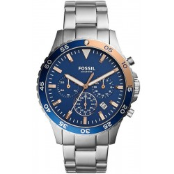 Buy Fossil Men's Watch Crewmaster CH3059 Chronograph Quartz