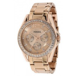Fossil Ladies Watch Riley ES2811 Quartz Multifunction