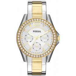 Buy Fossil Ladies Watch Riley ES3204 Quartz Multifunction