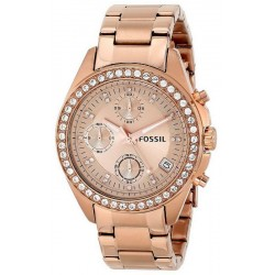 Buy Fossil Ladies Watch Decker ES3352 Chronograph Quartz