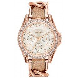 Buy Fossil Ladies Watch Riley ES3466 Quartz Multifunction