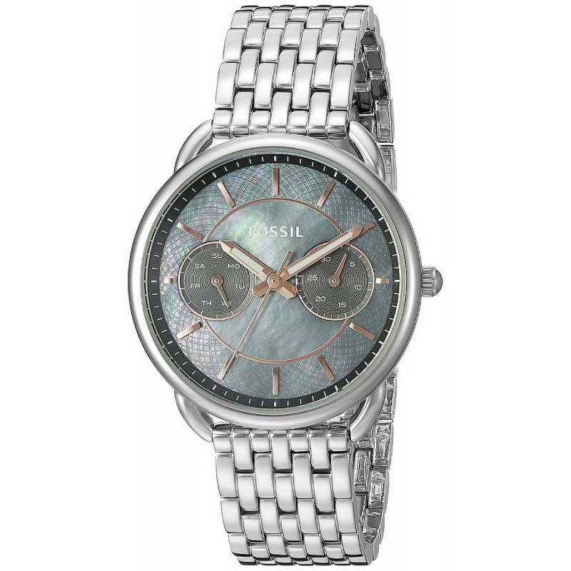 d7570b652 -8% Buy Fossil Ladies Watch Tailor ES3911 Mother of Pearl Quartz  Multifunction