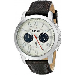 Buy Fossil Men's Watch Grant FS5021 Quartz Chronograph