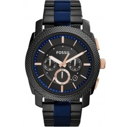 Fossil Men's Watch Machine FS5164 Quartz Chronograph