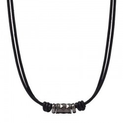 Buy Fossil Men's Necklace Vintage Casual JF01848001