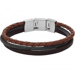Buy Fossil Men's Bracelet Vintage Casual JF02213040