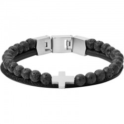 Buy Fossil Men's Bracelet Mens Dress JF03120040