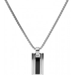 Buy Fossil Men's Necklace Mens Dress JF03173040