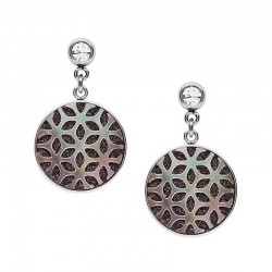 Buy Fossil Ladies Earrings Classics JF03267040 Mother of Pearl