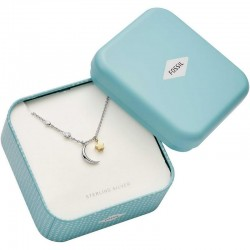 Buy Fossil Ladies Necklace Sterling Silver JFS00432998
