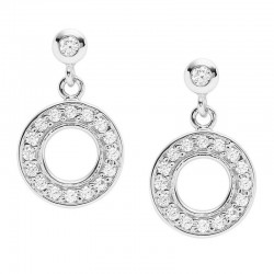 Buy Fossil Ladies Earrings Sterling Silver JFS00473040