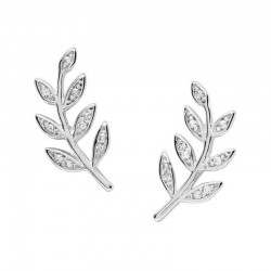 Buy Fossil Ladies Earrings Sterling Silver JFS00483040