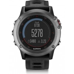 Garmin Men's Watch Fēnix 3 010-01338-01 GPS Multisport Smartwatch
