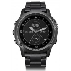 Buy Garmin Men's Watch D2 Bravo Sapphire 010-01338-35 Aviation GPS Smartwatch
