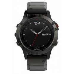 Garmin Men's Watch Fēnix 5 Sapphire 010-01688-21 GPS Multisport Smartwatch