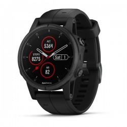 Buy Garmin Men's Watch Fēnix 5S Plus Sapphire 010-01987-03 GPS Multisport Smartwatch