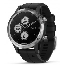 Buy Garmin Men's Watch Fēnix 5 Plus Glass 010-01988-11 GPS Multisport Smartwatch