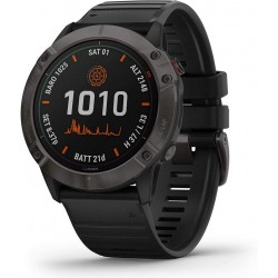 Garmin Men's Watch Fēnix 6X Pro Solar 010-02157-21 GPS Multisport Smartwatch