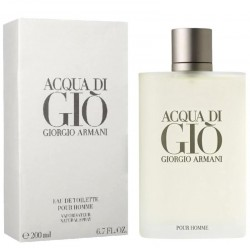 Giorgio Armani Acqua di Giò Perfume for Men Eau de Toilette EDT 200 ml