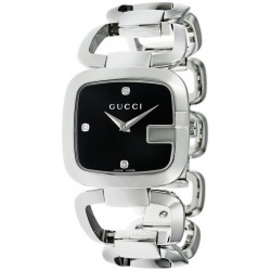 Buy Gucci Ladies Watch G-Gucci Medium YA125406 Diamonds Quartz