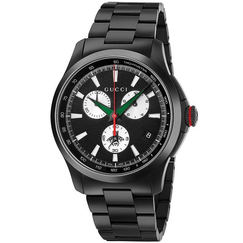 317b0ebbd3a Gucci Men s Watch G-Timeless Extra Large YA126268 Quartz Chronograph ...