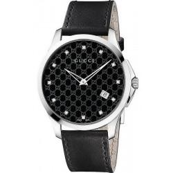 Buy Gucci Unisex Watch G-Timeless YA126305 Diamonds Quartz