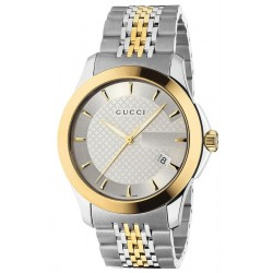 22c2f4a5263 Gucci Unisex Watch G-Timeless Medium YA126409 Quartz