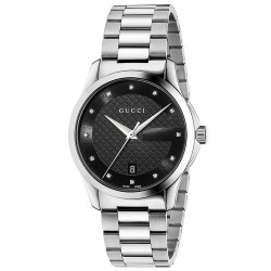 Buy Gucci Unisex Watch G-Timeless Medium YA126456 Diamonds Quartz