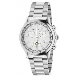 Buy Gucci Unisex Watch G-Timeless Medium YA126472 Quartz Chronograph