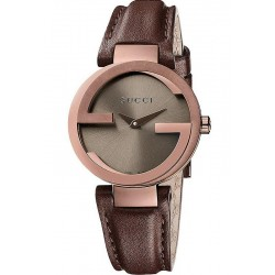 Gucci Ladies Watch Interlocking Small YA133504 Quartz