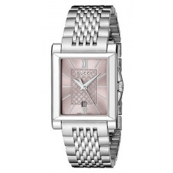 Gucci Ladies Watch G-Timeless Rectangular Small YA138502 Quartz