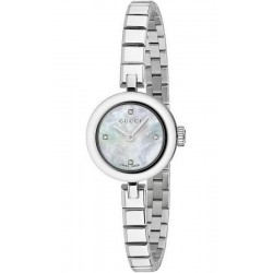 281ac33ca04 Gucci Ladies Watch Diamantissima Small YA141503 Diamonds Mother of Pearl