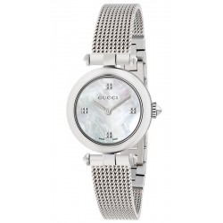 Gucci Ladies Watch Diamantissima Small YA141504 Mother of Pearl