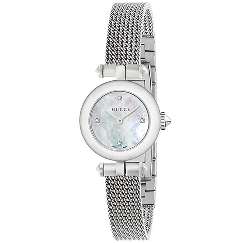 a1c5ca86ea1 -8% Buy Gucci Ladies Watch Diamantissima Small YA141512 Diamonds Mother of  Pearl