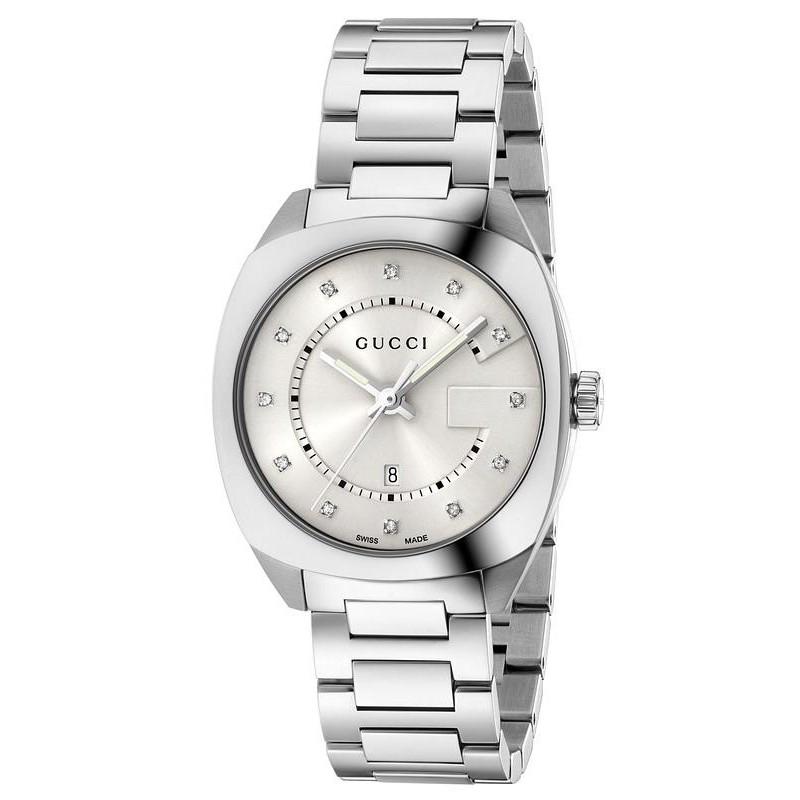 ab34cdd257b Gucci Ladies Watch GG2570 Medium YA142403 Diamonds Quartz - Crivelli ...