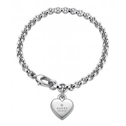 Gucci Ladies Bracelet Trademark YBA356210001017 Heart