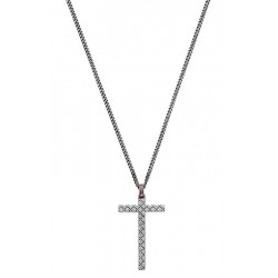 Buy Gucci Men's Necklace Silver YBB31048400100U Cross