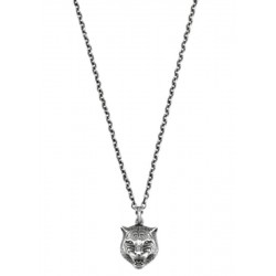 Buy Gucci Men's Necklace Gatto YBB43360800100U
