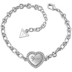 Buy Guess Ladies Bracelet Iconic UBB21516-S Heart