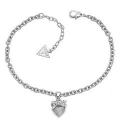 Buy Guess Ladies Bracelet Iconic UBB21570-S Heart