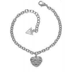 Buy Guess Ladies Bracelet Fashion UBB21594-S Heart