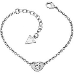 Buy Guess Ladies Bracelet Crystals Of Love UBB51413 Heart