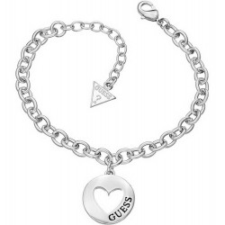 Buy Guess Ladies Bracelet G Girl UBB51434 Heart