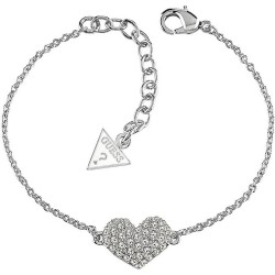 Buy Guess Ladies Bracelet Basic Instinct UBB51488 Heart