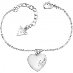 Buy Guess Ladies Bracelet Heartbeat UBB61043-S Heart