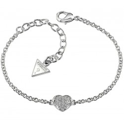 Buy Guess Ladies Bracelet Heartshelter UBB71518-S Heart