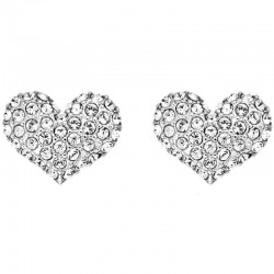 Guess Ladies Earrings Basic Instinct UBE51405 Heart
