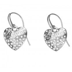 Guess Ladies Earrings Glossy Hearts UBE51433 Heart